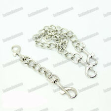 Steel chain two hooks hog tie accessory parts for Wrist Hand ankle cuffs