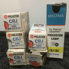 CBJ CBC GE General Electric Projector Projection Lamp 75W 115-125V NOS USA