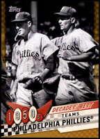 Philadelphia Phillies 2020 Topps Decade's Best Series 2 5x7 Gold #DB-2 /10