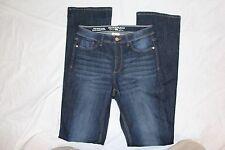 Women's PARASUCO Denim High Waist Flare Jeans Dark Blue Wash - Size W 28 L 46