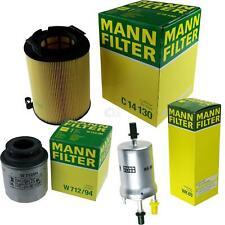 MANN-FILTER PAKET Luft Öl Kraftstoff für VW Touran 1T3 1.2 TSI 162 1.4 16V