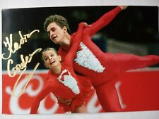 EKATERINA GORDEEVA Hand Signed Autograph 4X6 Photo - OLYMPIC CHAMPION SKATER