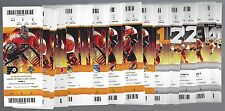 2015-2016 NHL PHILADELPHIA FLYERS ENTIRE SEASON FULL UNUSED TICKETS LOT - 57 TIX
