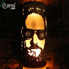 The Big Lebowski 'The Dude' Beer Can Lantern! Jeff Bridges Pop Art, Unique Gift!