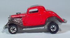 "Hot Wheels 34 Ford Hot Rod Hi Rakers 2.75"" Die Cast Scale Model Raising Rear End"