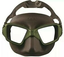 OMER Zero 3 Mask Cubed Low Volume (Olive) Snorkel Spearfishing Freedive Gear