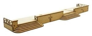 PS013 Platform Set for an ST005 Station OO Gauge Laser Cut Kit