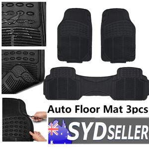 Car SUV Floor Mats Front Rear Non-skid Design Weatherproof Against Spills Debris