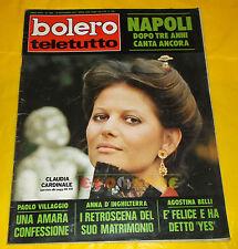 BOLERO FILM 1973 n. 1385 Claudia Cardinale, Isabella Biagini, Agostina Belli