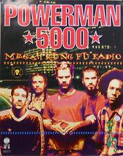 POWERMAN 500, MEGA KUNG FU RADIO POSTER (K2)