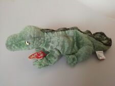 TY BEANIE BABIES SWAMPY THE CROC USED BUT IN BOX FROM NEW FREE POSTAGE