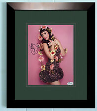 Katy Perry Signed JSA COA 8X10 Framed & Matted Photo Auto Autographed Autograph