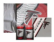 Atlanta Falcons Party Pack LG - 40 Paper Cups, Plates, Napkins and Plastic Forks