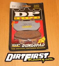Dunlopad DP Brakes brake pads DP105 105 NEW Honda Rear GL1500 Gold Wing CBR600F