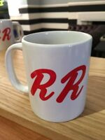 Twin Peaks RR Diner Mug - David Lynch Inspired R and R Diner Coffee Cup by Rev