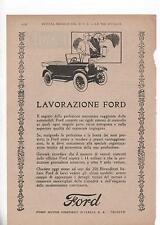 Pubblicità vintage FORD AUTO TRIESTE advertising reklame werbung publicitè B9