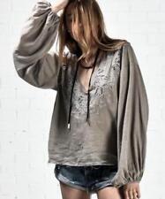 Long Sleeve Blouses for Women Boho