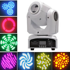 60W RGBW LED Moving Head Stage Light Beam DMX-512 Disco DJ Party Lighting White