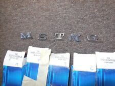 NOS 1971 1972 1973 FORD MUSTANG DECKLID LETTERS