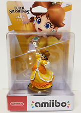 Super Smash Bros. Daisy Amiibo Figure *NEW Sealed Excellent Condition Switch 3DS