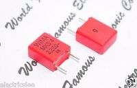 4pcs - WIMA MKS4 2.2uF (2,2µF) 50V 5% pitch:7.5mm Polyester Capacitor