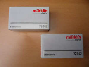 Märklin 72442 Bremsmodul, 100 mm, digital - 2 Stück