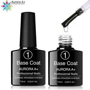 "BASE COAT Dipping System Dip Nail ""NO LAMP"" Powder Acrylic Nails 7.5ml (Step 1)"
