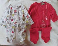 LOT de 2 BODY pour bébé 6 mois  - 100% coton - NEUF