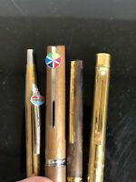 Vintage Pen Lot Bradley Hallmark  Sheaffer Amoco Walnut