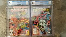 Marvel Super Hero Contest of Champions 1, 3. CGC 9.6s NM Avengers X-Men Thor FF