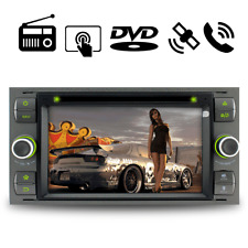 "7"" GPS DVD Autoradio SD EU Maps DAB+ für Ford FucusTransit S/C-Max Kuga Fusion"