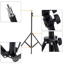 "2m/6.6ft Photo Studio Light Stand +1/4"" Screw for Video Studio Soft Box NEW N5J4"