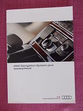 AUDI MMI SAT NAV NAVIGATION / AUDIO / PHONE HANDBOOK. A4 A5 A6 RS6 Q5 Q7 (MMI 1)