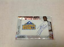 09/10 ROOKIES AND STARS LONGEVITY TY LAWSON AUTO 3/49 JERSEY # 1/1 NUGGETS R&S