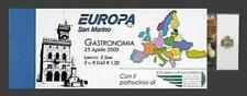 2005 Europa CEPT - San Marino - libretto+appendice