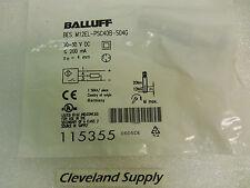 BALLUFF BES M12EL-PSC40B-S04G PROXIMITY SENSOR 0606DE 4MM 10-30VDC NEW CONDITION