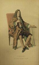 OEUVRES de Jean RACINE 20 portraits coloriés édition laplace et sanchez 1870