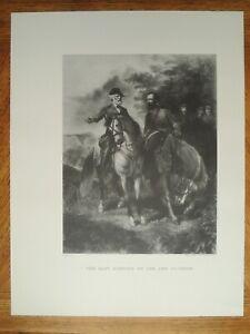 The Last Meeting Robert E Lee Stonewall Jackson by Everett B D Julio 20 x 26 $95