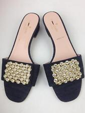 KATE SPADE NEW YORK mazie crystal embellished slide sandal sz 7.5