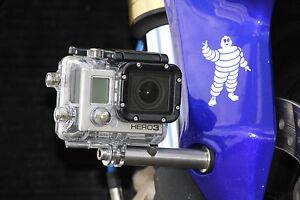 "Kamera Halterung 1/4"" Zoll für Buell / Harley GoPro Aktioncam Halter Motorrad"