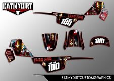 YAMAHA PW50 1981-2010  FULL CUSTOM GRAPHICS KIT STICKERS MOTOCROSS MX DECALS