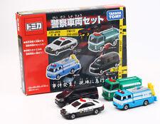 JAPAN TAKARA TOMICA GIFT POLICE VEHICLE SELECTED DIECAST 4 CARS LOT SET 486534