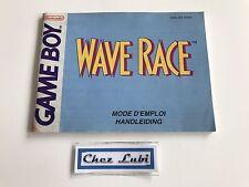 Notice - Wave Race - Nintendo Game Boy - PAL FAH