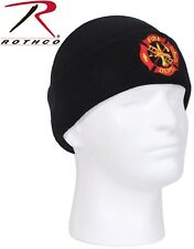 53c7258d08d Black Fire Dept EMT EMS Hat Embroidered 100%25 Acrylic Watch Cap 5346 5356  Rothco