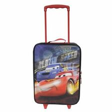 Disney Cars Brand New Retractable Pull Handle Kids Roller Pilot Case 16""