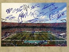 2016-17 MIAMI DOLPHINS team signed 12x18 photo ~ Tannehill~Landry~Suh (23 sigs)
