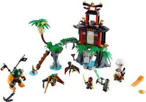 LEGO Ninjago Tiger Widow Island set 70604 As Seen On BrickshowTV Complete