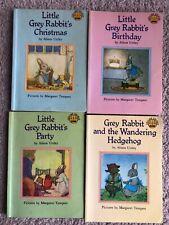Vintage Little Grey Rabbit Books Set Of 4 1978 Paperback Childrens Books