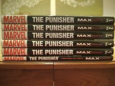 Punisher Max Garth Ennis Deluxe Hardcover 1 2 3 4 5 From First to Last Omnibus