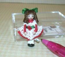 "Miniature Ethel Hicks ""Wee Christmas Carol"" DOLLHOUSE Miniatures 1:12 Scale"